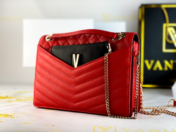 Geanta Evelyn Red 0