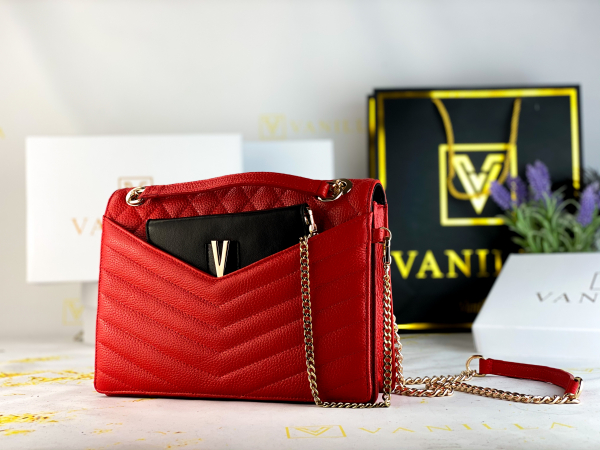 Geanta Evelyn Red 2