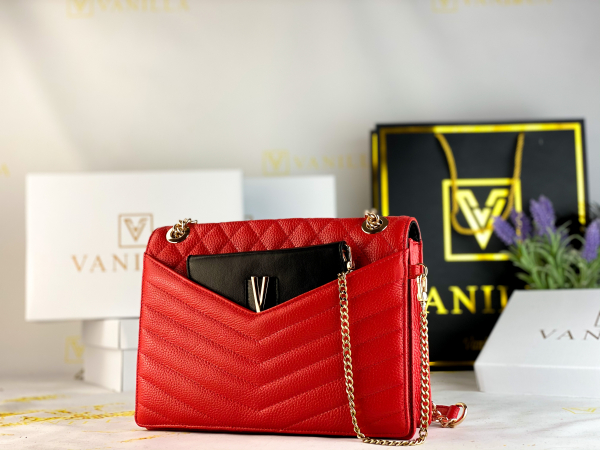 Geanta Evelyn Red 1
