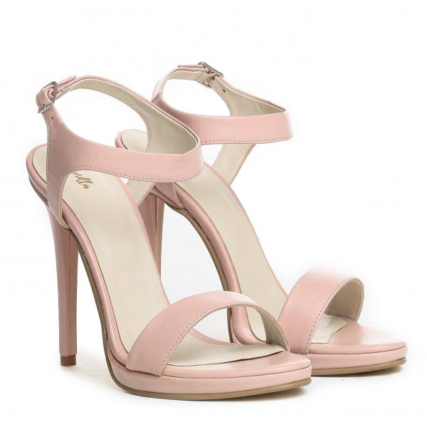 Sandale Atena Paco Piele Neteda 0