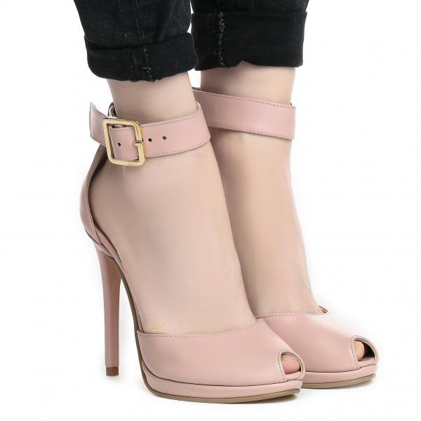 Sandale Baku Piele Neteda 0