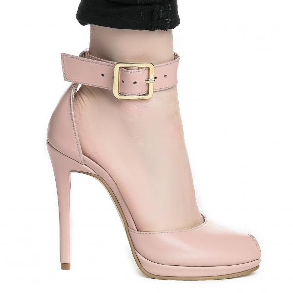 Sandale Baku Piele Neteda 1