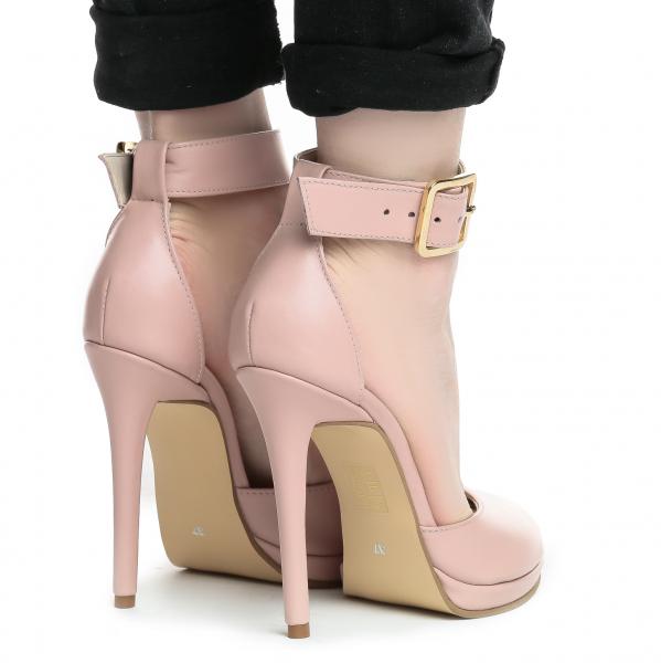 Sandale Baku Piele Neteda 3