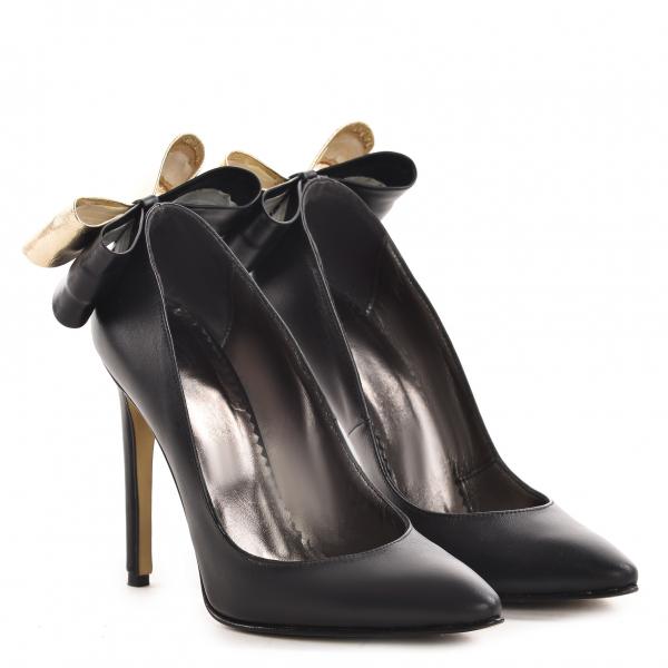 Stiletto Cleopatra Piele Neteda Elegance 0