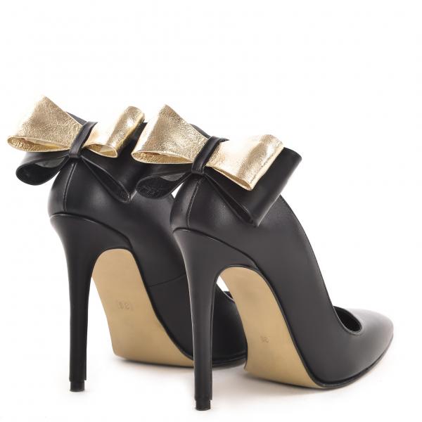 Stiletto Cleopatra Piele Neteda Elegance 2