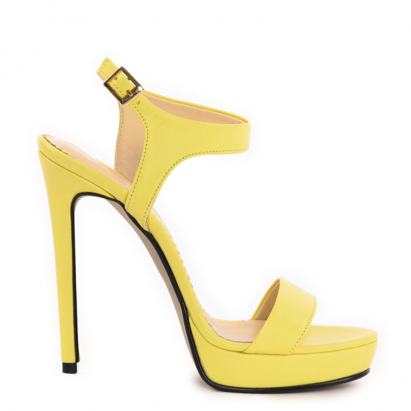 Sandale Atena Piele Neteda 1