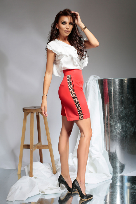 Pantaloni scurti Melia Red [1]