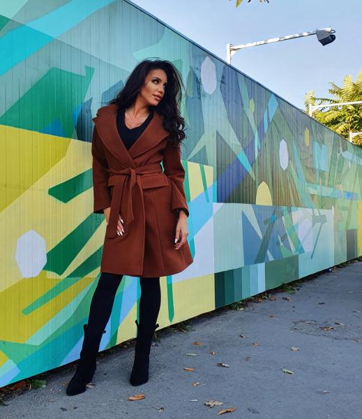 Palton Tereza  Brown 2