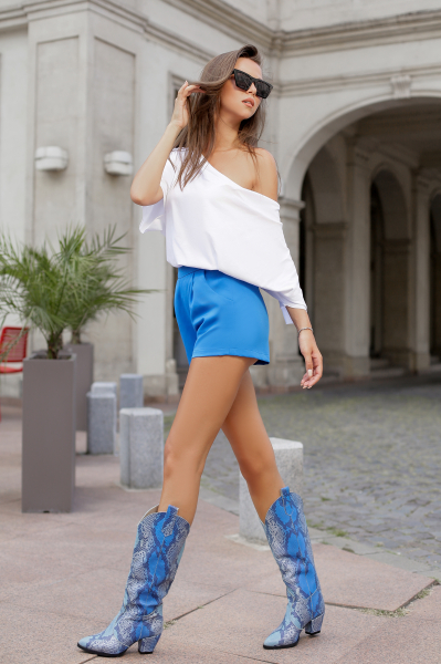Pantaloni scurti  Sonia Blue [0]