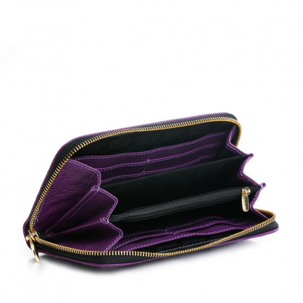 Portofel Dalia Purple 1