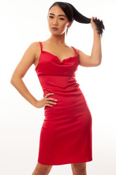 Rochie Malina Red 2