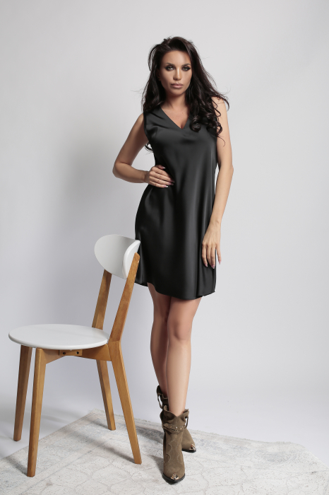 Rochie Melisa Black 0