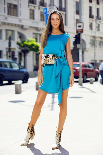 Rochie Nancy Blue 2