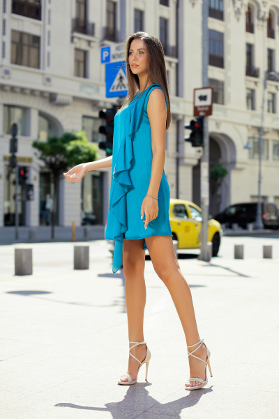 Rochie Nancy Blue 5