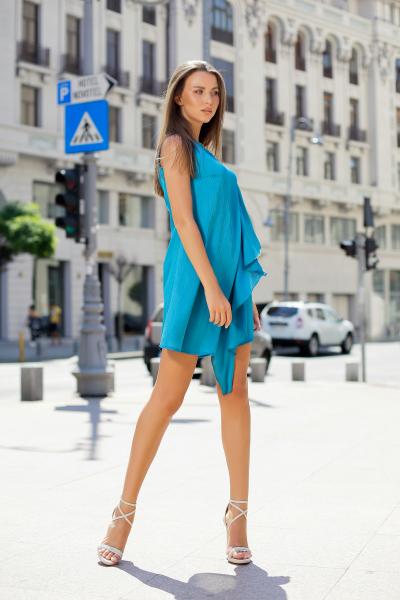 Rochie Nancy Blue 3