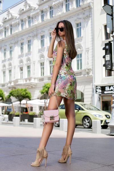 Rochie Tasha Green 2