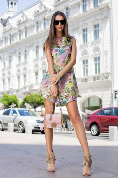 Rochie Tasha Green 0