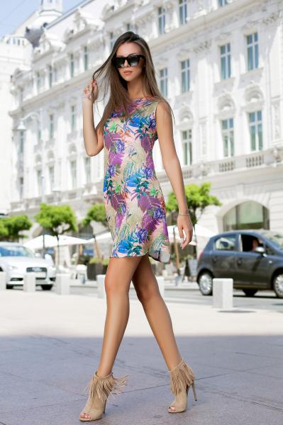 Rochie Tasha Purple 4