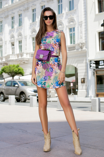 Rochie Tasha Purple 0