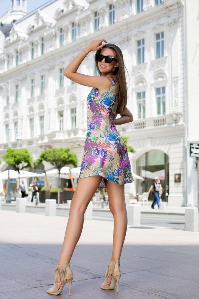 Rochie Tasha Purple 3