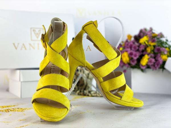 37   Sandale Andra din piele intoarsa Promo 1