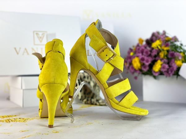37   Sandale Andra din piele intoarsa Promo 2