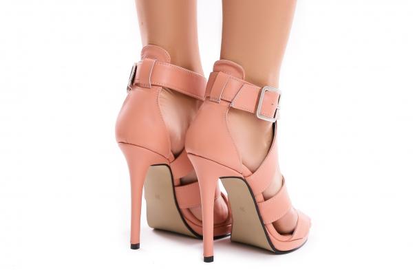 Sandale Andra din piele neteda 2