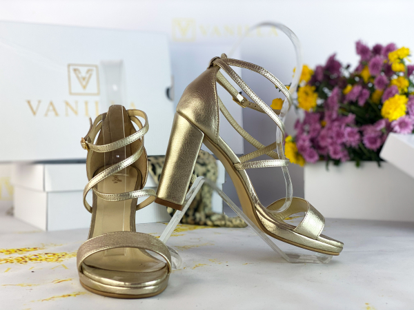 36   Sandale Antonia Gold Promo 0