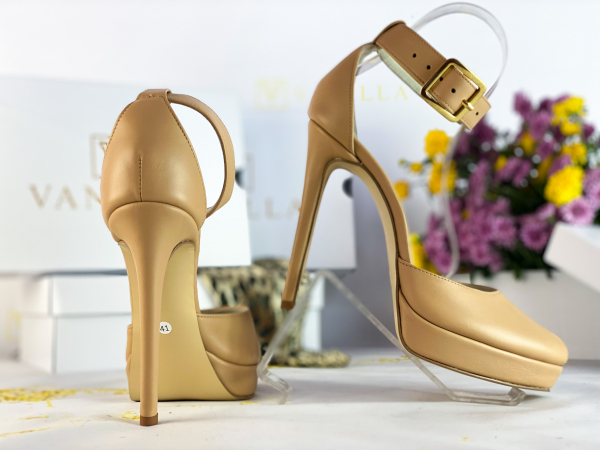 41   Sandale Baku Piele Neteda Promo 2