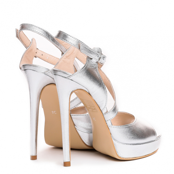 Sandale Berna Silver 2