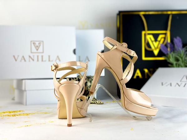 36   Sandale Berna Piele Lacuita Toc Mic Promo 2
