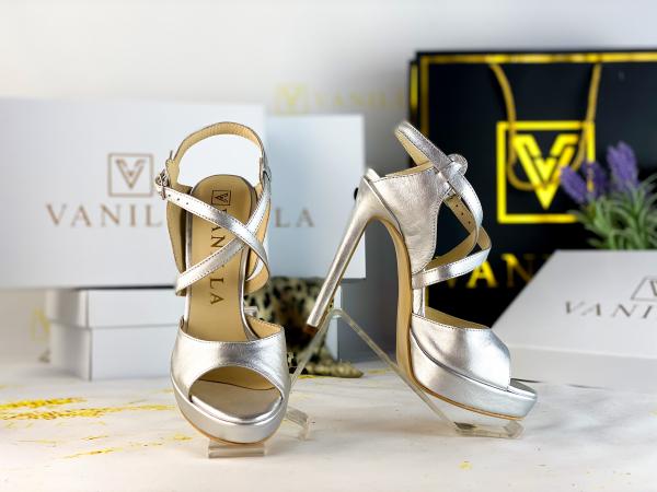 35   Sandale Berna Silver Promo 0