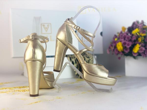 36   Sandale Bogota Gold Promo 2