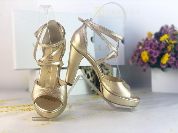 36   Sandale Bogota Gold Promo 0