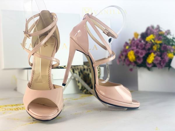 41   Sandale Bogota Piele Lacuita Promo 0