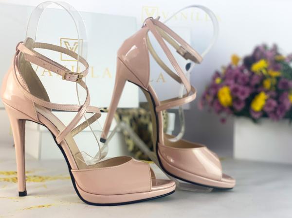 41   Sandale Bogota Piele Lacuita Promo 1