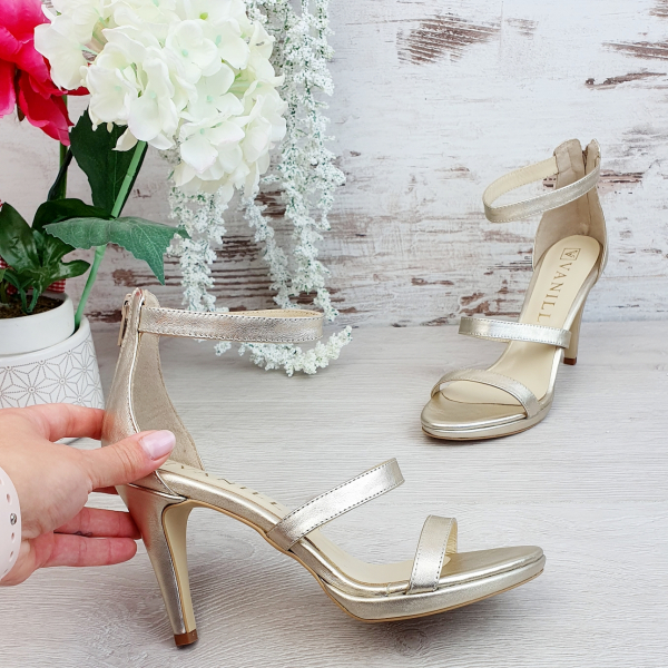 Sandale Cairo Auriu 2 Promo 1