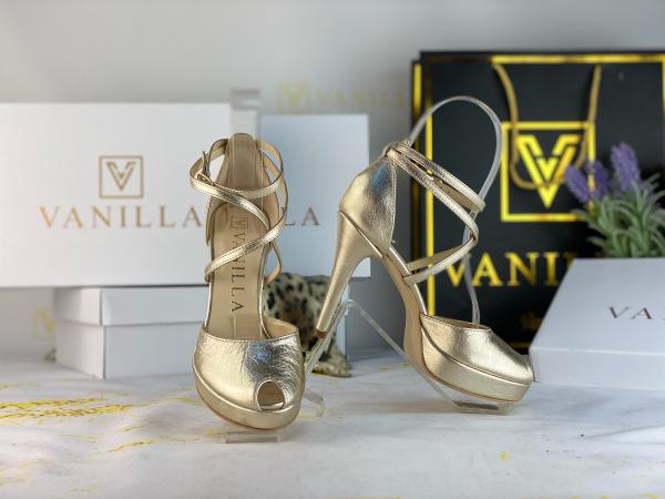 Sandale Fabiana Mistic Gold 0