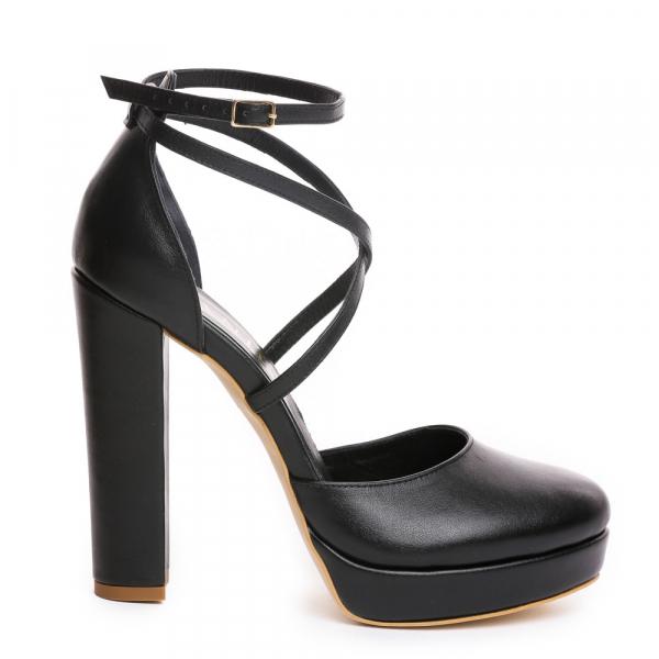 Sandale Mali Piele Neteda [2]