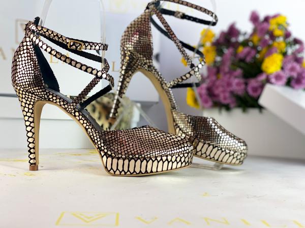 Sandale Obsesium Gold 2