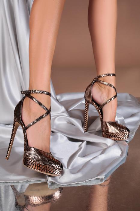 Sandale Obsesium Sampanie [0]