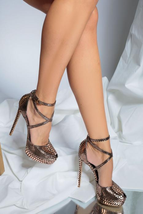 Sandale Obsesium Sampanie [3]