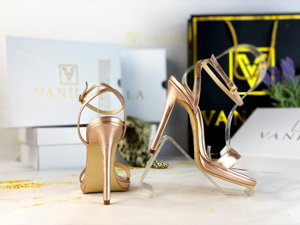 Sandale Paris Piele Neteda 0