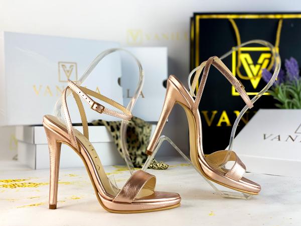 Sandale Paris Piele Neteda 1
