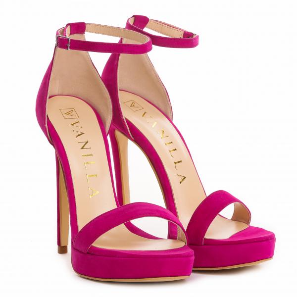 Sandale Viena Piele Intoarsa 0