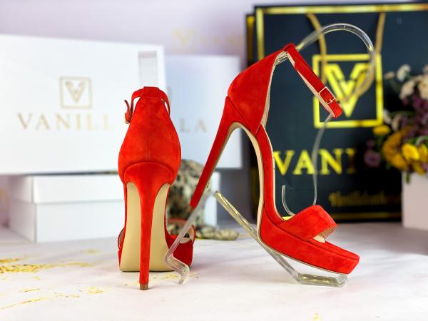 35   Sandale Viena Piele Intoarsa Promo 2