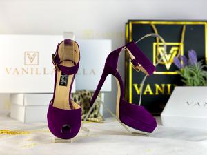 35   Sandale Baku Piele Intoarsa  Promo [0]