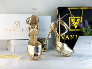 35 Sandale Fabiana Elegance Gold Promo0