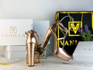 35 Sandale Fabiana Elegance Sampanie Promo [2]