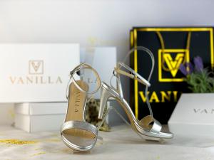 36   Sandale Paris Argintiu Nou Promo0